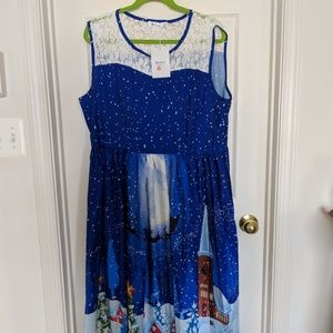 Christmas gown size 3xl